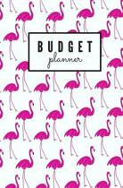 Budget Planner: Monthly Undated Flamingo Expense Tracker