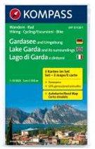 Kompass WK697 Gardameer / Gardasee und Umgebung