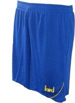 KWD Short Nuevo - Kobaltblauw/geel - Maat 128/140 - Pupil