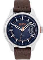 Hugo Boss Orange HO1550002 horloge heren - bruin - edelstaal