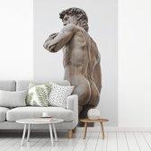 Fotobehang vinyl - Het David standbeeld te vinden in Florence breedte 270 cm x hoogte 400 cm - Foto print op behang (in 7 formaten beschikbaar)