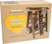 Rosewood Stormbaan Activity - Knaagdierspeelgoed - Hout - 27x24x21 cm