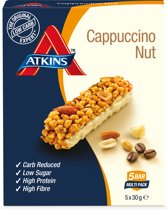 Atkins Day break capuccino nut - 5 x 30 gram