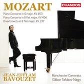 Mozart: Piano Concerto in G major, KV 453; Piano Concerto in B flat major, KV 456; Divertimento in B flat major, KV 137