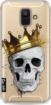 Casetastic Softcover Samsung Galaxy A6 (2018) - Royal Skull