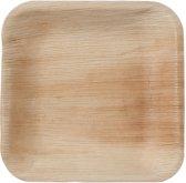 Natural Tableware Hampi palmblad wegwerp borden - Jeeva Square (17 cm) - 25 Stuks