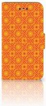 Nokia 1 Boekhoesje Design Batik Orange