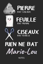 Rien ne bat Marie-Lou - Notes
