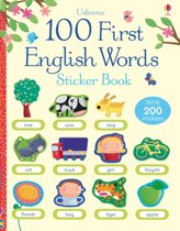 100 First Words in English Sticker Book