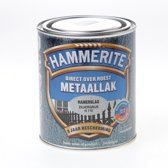 Hammerite Hamerslag Zilvergrijs H115 750ML