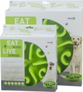 Eat Slow Feeder - Small - Groen
