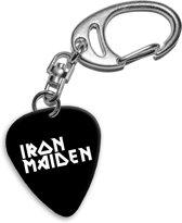 Iron Maiden plectrum sleutelhanger