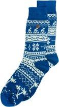 Alfredo Gonzales Twisted Wool Northern Pixels Blauw/Beige, Maat 38/41