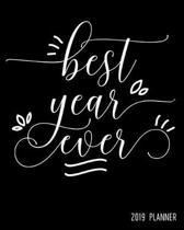 Best Year Ever 2019 Planner