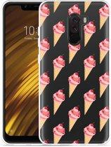 Xiaomi Pocophone F1 Hoesje Ice cream