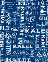 Kalel Composition Notebook Wide Ruled