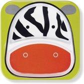 Skip Hop - Zoo verdeeld bord Zebra - Zwart/Wit