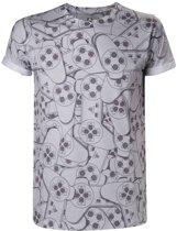 Officieel gelicenseerd - Playstation - SublimationT-shirt Controller - Heren - XL