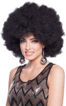 XXL Afro Pruik Zwart