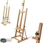 Artina Schilderezel - Beukenhout Atelierezel -  56x170 cm - Siena