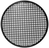 HQ Power 10'' black metal speaker grille Zwart speaker steun