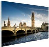 Schilderij op plexiglas Big Ben Londen