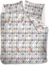 Fijne Katoen Dekbedovertrek Dante | 140x200/220 | Ademend En Soepel | Hoogwaardige Kwaliteit