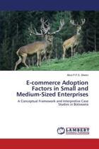 E-Commerce Adoption Factors in Small and Medium-Sized Enterprises