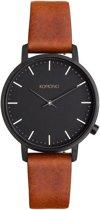 Komono Black Harlow horloge KOM-W4112