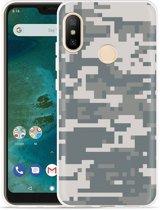 Xiaomi Mi A2 Lite Hoesje Army Digi Camouflage