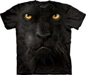 Kinder T-shirt zwarte panter 140-152 (l)