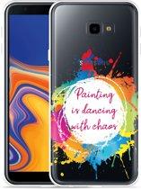 Galaxy J4 Plus Hoesje Painting