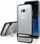 Samsung Galaxy S9 bumper - Goospery Dream Stand Bumper Case - Zwart