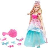 Barbie Dreamtopia Prinses met Bijzonder Lang Haar Blond - Barbiepop