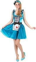 Wonderland outfit voor dames - Verkleedkleding - Maat S