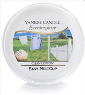 Yankee Candle Scenterpiece Cups Easy Meltcup Clean Cotton