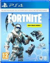 Cover van de game Fortnite: Deep Freeze Bundle - PS4 (Voucher in Box)