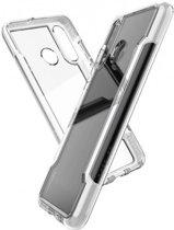 X-Doria Defense Clear cover - wit - Huawei P30 Lite