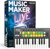 Magix, Music Maker 2016 Live Performer (Incl. Luxe Keyboard)