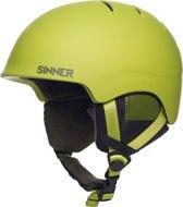 Sinner Lost Trail - Skihelm - Volwassenen - 61-62 cm / Maat XL - Lime Groen