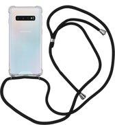 iMoshion Backcover met koord Samsung Galaxy S10 hoesje - Zwart