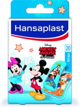 Hansaplast Mickey Pleisters - 20 strips