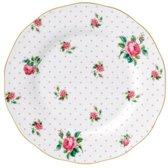 Royal Albert Cheeky Pink Vintage Ontbijtbord 20 cm