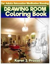 DRAWING Room book for Adults Relaxation Meditation Blessing