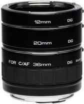Kenko macro tussenringenset (3x) voor Canon EF en EF-S