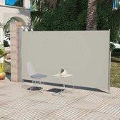vidaXL - Zonnescherm Uittrekbaar wind- / zonnescherm 180 x 300 cm - crème