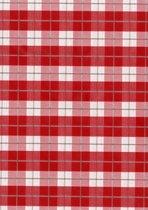 PVC Tafelkleed Kilt red 140 x 240 cm
