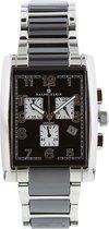 RK0006 Ralph Klein unisex horloge met bicolor stalen en zwart keramieke band
