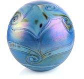 Glasurn Elan 1,5 liter mini urn glas blue