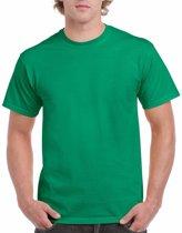 Groen katoenen shirt voor volwassenen 2XL (44/56)
